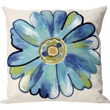 Liora Manne Outdoor Throw Pillow Collection in Daisy Outdoor Cushions And Pillows, Modern Throw Pillows, Outdoor Pillow, Floral Pillows, Pillow Set, Pillow Talk, Decorative Throw Pillows, Diys, Tapestry