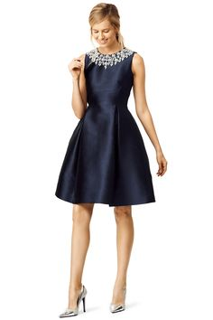 Dresses to Wear to Holiday Parties: kate spade dress from Rent the Runway