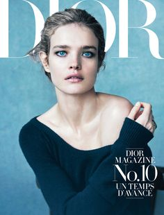 Natalia Vodianova in Dior Magazine 10 by Peter Lindbergh | STYLE ANYWHERE