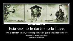 La mecánica del corazón (Mathias Malzieu)
