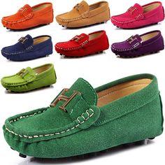y zapatos moda de Nueva barco niñas cuero solo 2014 ocasional zapatos de del niños los Mocasines las bebé deporte zapatillas 8UwqqBx5