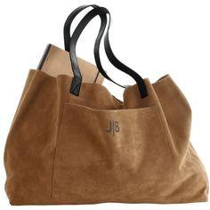 Suede Boho Bag (2.265 ARS) ❤ liked on Polyvore featuring bags, handbags, tote bags, purses, accessories, bolsas, brown suede tote bag, man bag, brown tote and brown suede handbag