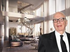 Rupert Murdoch Drops $57.25M on Massive NYC Penthouse