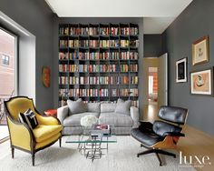 A Chicago Penthouse with a Love for Pop Art and Vintage Antiques | LuxeDaily - Design Insight from the Editors of Luxe Interiors + Design