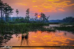 Sunset Loxahatchee Slough Wetlands | Captain Kimo – HDR Photography