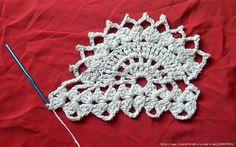 Tutorial Crochet: Lace Arquitetura (Master Class) - maomao - Eu ação do coração