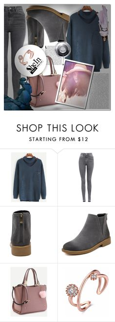 """""""SHEIN 3"""" by mini-kitty ❤ liked on Polyvore featuring Topshop, Oris and shein"""