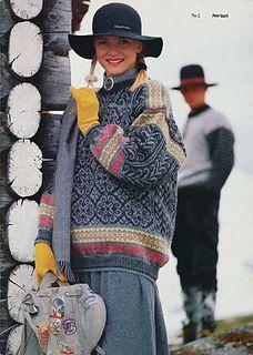 Denne genseren strikket jeg to ganger i Den første måtte rekkes… Knitting Stitches, Free Knitting, Knitting Patterns, Knitting Ideas, Norwegian Knitting, Fair Isle Knitting, Barbie, Daily Fashion, Knit Cardigan