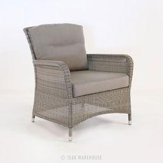 Teak Warehouse   Gilbert Occasional Chair (Seaside)