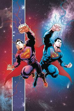 'SUPERMAN REBORN' finale! As this epic tale wraps up, Superman's life is drastically changed...and that's all we are saying for now-except that you won't want to miss it! The covers by Patrick..