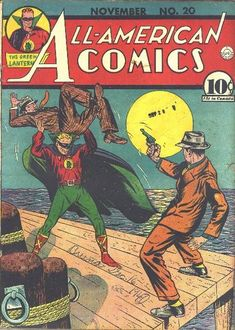 All-American Comics #20 first appearance golden age Red Tornado aka Ma Hunkle