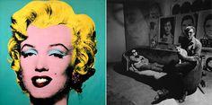 10 artistas con sus gatos Andy Warhol