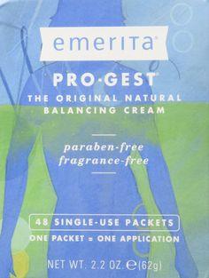 EMERITA: Pro-Gest Cream, 48 Single-Use Packets