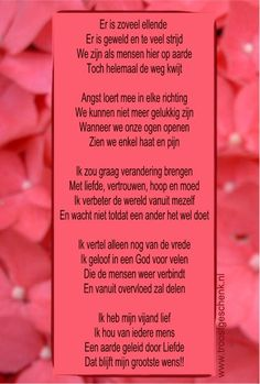 Gedicht Er is zoveel ellende www.troostgeschenk.nl