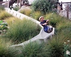 playscapes: Grassy slide at the San Francisco School, Miller Company, 2003