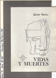 Portada de Vidas y Muertes - Jaime Saenz
