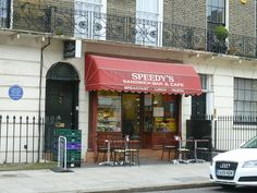 87 North Gower Street aka 221B Baker Street and Speedy's Sandwich Bar & Cafe