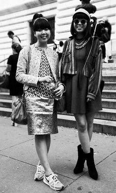 New York Fashion Week Street Style Sept2012