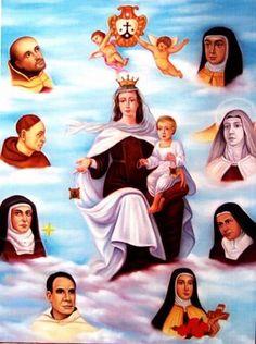 Los Carmelitas | 14 de noviembre, TODOS LOS SANTOS CARMELITAS