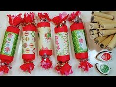 DIY Christmas Crackers // Party Favor-Gift Packaging-Advent Calendar Idea! - YouTube