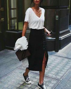 730e873458 Black Skirt Casual, Black Midi Skirt, Midi Skirt Casual, Pencil Skirt  Casual,