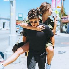 •Pinterest : @vandanabadlani• Elegant romance, cute couple, relationship goals, prom, kiss, love, tumblr, grunge, hipster, aesthetic, boyfriend, girlfriend, teen couple, young love image RUDY MANCUSO AND MAIA MITCHELL