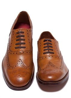 Grenson Dylan Leather Wing Tip Shoe - Bonobos Mens Shoes