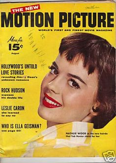 Natalie Wood - Motion Picture Magazine [United States] (August 1956)