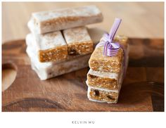 Home made High Protein bars - no bake   No refined sugar, low in fat and can be gluten free!