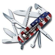 Victorinox Swiss Army has partnered with Wounded Warrior Project to introduce eight commemorative co-branded Swiss Army knife designs this year, including the American Flag Fieldmaster pictured. Additionally, Victorinox will donate $100,000 to support WWP programs in 2016. Stay tuned for updates on retail availability and to see more of the exclusive designs. #VictorinoxSwissArmy #SwissArmyKnife #WoundedWarriorProject #MultiTool #edc