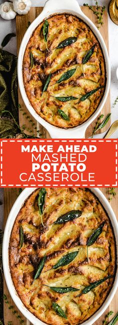 Make-Ahead Mashed Potato Casserole Host The Toast Make-Ahead Mashed Potato Casserole Host The Toast Host the Toast hostthetoast Host the Toast Recipes This Make-Ahead Mashed Potato nbsp hellip side dish make ahead Make Ahead Mashed Potatoes, Perfect Mashed Potatoes, Mashed Potato Casserole, Potato Bites, My Best Recipe, Thanksgiving Recipes, Fall Recipes, Family Meals, Side Dishes