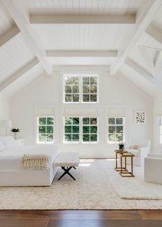 Timeless White Bedroom by Eche Martinez