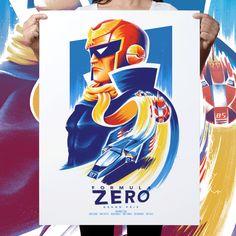 Formula Zero 7-Colour Screen Print
