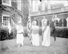 University of Virginia Pageant, May 28, 1917. From the Small Special Collections Library's Holsinger Studio Collection.