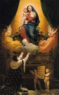 Le Voeu de Louis XIII, par Jean-Auguste-Dominique Ingres