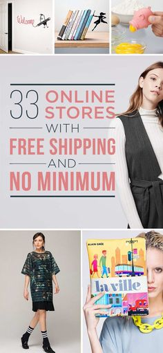 32 Online Stores With Free Shipping And No Minimum f2d9851b1da