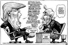 The rambling Mr Trump. This week's KAL's Cartoon, April 2nd 2016