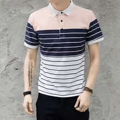 POLO Shirt Men Cotton