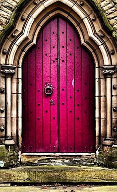 Gorgeous doors, Painted front doors, Unique doors, Beautiful doors, Cool doors, Painted doors - Totally love the shape and colour of this door doorway doorporn doorsondoors adooraday architecture arch - #Gorgeousdoors Cool Doors, Unique Doors, Entrance Doors, Doorway, Doors Galore, When One Door Closes, Painted Front Doors, Vintage Doors, Door Gate