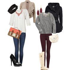 Cute outfits, i like them
