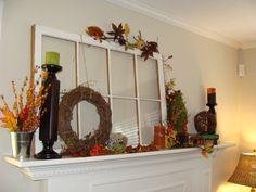 fall mantle idea