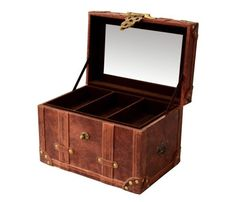 Leather Collector's Box