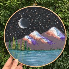 The Latest Trend in Embroidery – Embroidery on Paper - Embroidery Patterns Learn Embroidery, Hand Embroidery Stitches, Silk Ribbon Embroidery, Embroidery Hoop Art, Hand Embroidery Designs, Embroidery Techniques, Cross Stitch Embroidery, Embroidery Patterns, Etsy Embroidery
