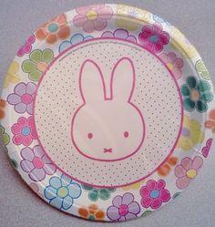 "Miffy / Nijntje Bunny Rabbit Birthday Party 9"" Dinner Plates ~ 12 count Miffy Nijnte Bunny Rabbit http://www.amazon.com/dp/B007R92848/ref=cm_sw_r_pi_dp_7DdDvb0WWY6GA"
