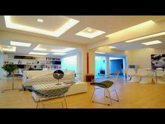 Modern Interior Design with Ceiling Ideas - For people who don't pay too much attention to the structure of the house, maybe the ceiling is the last part. Condo Interior Design, Interior Design Minimalist, Basement Ceiling Options, Ceiling Ideas, Basement Ideas, Modern Basement, Diy On A Budget, Home Remodeling, Living Room Decor