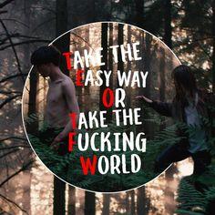 #theendofthefxxxingworld James y Alyssa