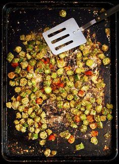Cajun Spiced Okra | My Vegan Cookbook – Vegan Baking Cooking Recipes Tips
