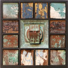 Ron Robertson Assemblage - Shadow Boxes Gallery. Space Flotsam