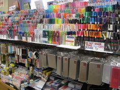 Kinokuniya Japanese stationary and book store