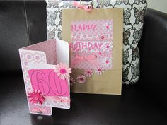 Card and matching gift bag set:)xM